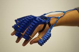 Meer grip met een 3D-geprinte robothandschoen