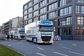 DAF Trucks participeert in tweejarige proef met gekoppeld rijden