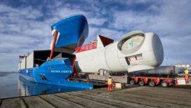 Holland Shipyard levert op maat gebouwde schip voor windturbinetransport