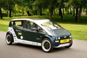 Auto van biocomposiet