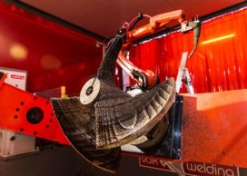 Grootste 3D-geprinte scheepsschroef ter wereld valt in de prijzen