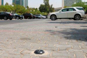 Proef met slimme parkeersensoren Nedap