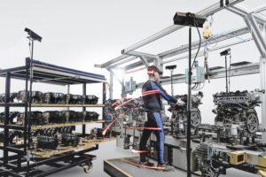 Body-trackingtechnologie uit topsport verbetert ergonomie bij werknemers Ford