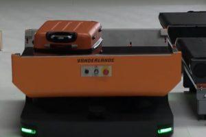 Dronetechnologiebedrijf Avular en Vanderlande werken samen aan autonoom bagageafhandelingssysteem